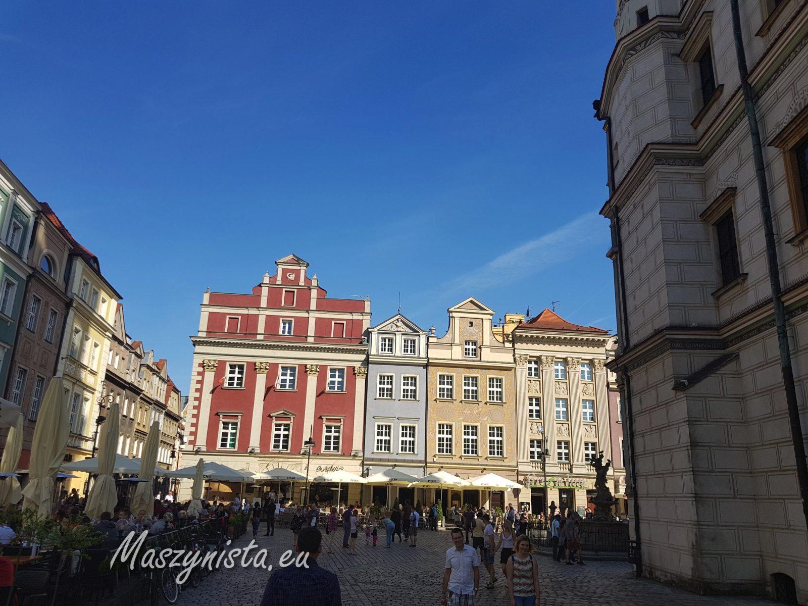 weekend pociągiem - Poznań